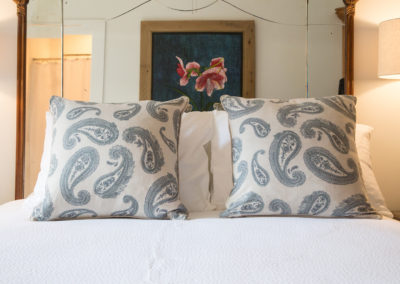 The Country French Room - Mirrored Headboard